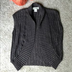 Sweater Project, Brown & Copper Vest.  Size Large